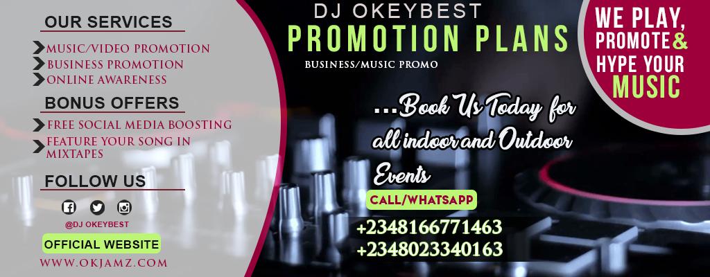 Mixtape: DJ OkeyBest — Lagos vibes mixtape vol 11 | OKJAMZ